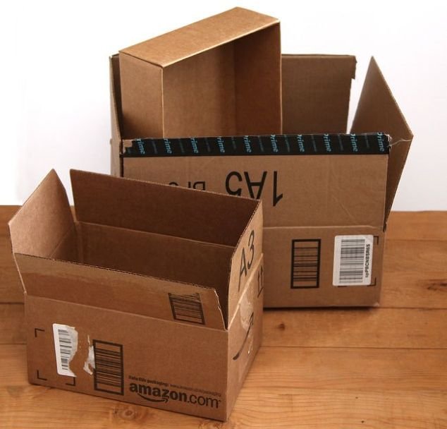 Simple Storage Projects With Repurposed Cardboard Bo Packaging And Shipping Supplies